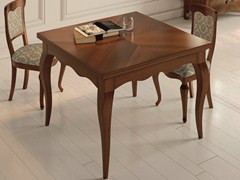 - Square walnut table SYMFONIA | Walnut table - Dall'Agnese