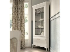 - Lacquered corner display cabinet SYMFONIA | Corner display cabinet - Dall'Agnese