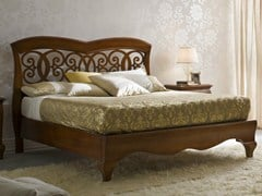 - Walnut double bed SYMFONIA | Walnut bed - Dall'Agnese