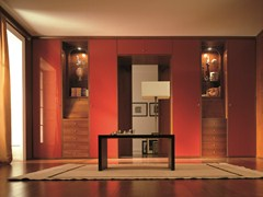 - Lacquered wooden bridge wardrobe custom UNICO | Bridge wardrobe - Dall'Agnese