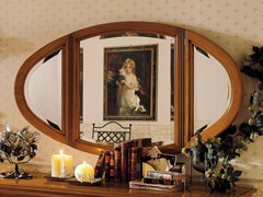 - Oval wall-mounted mirror CHOPIN | Oval mirror - Dall'Agnese