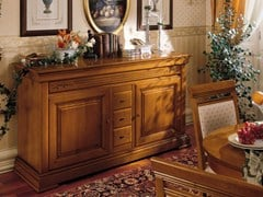 - Cherry wood sideboard with doors with drawers CHOPIN | Sideboard with drawers - Dall'Agnese