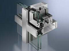 Finestra per facciate strutturaliSimplySmart AWS 114 - SCHÜCO INTERNATIONAL ITALIA