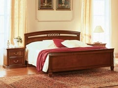 - Cherry wood double bed VENEZIA | Double bed - Dall'Agnese