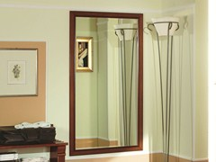 - Wall-mounted cherry wood hall mirror VENEZIA | Hall mirror - Dall'Agnese