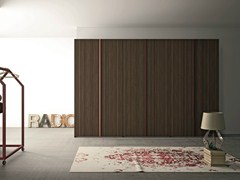 - Oak wardrobe with folding doors EMOTION 14 - ANTA CUBO - Dall'Agnese