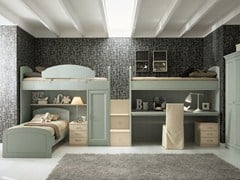 - Loft bedroom set for boys/girls NUOVO MONDO N16 - Scandola Mobili