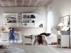 - Wooden bedroom set for boys/girls TABIÀ T05 - Scandola Mobili