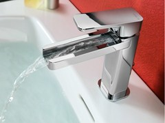- Chrome-plated single handle washbasin mixer LOOP | Washbasin mixer - Carlo Nobili Rubinetterie