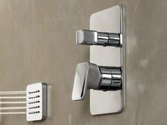 Miscelatore per doccia monocomando con piastraLOOP | Miscelatore per doccia - CARLO NOBILI RUBINETTERIE