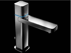 - Chrome-plated countertop electronic washbasin mixer LOOP E | Washbasin mixer - Carlo Nobili Rubinetterie