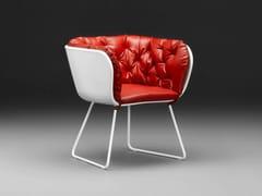- Sled base garden armchair NO.3 | Garden armchair - mminterier