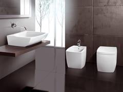 Arredo bagno completo in ceramicaSQUARE - A. E T. ITALIA