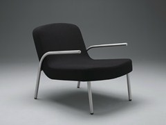 - Upholstered fabric easy chair with armrests PLOON | Easy chair - mminterier