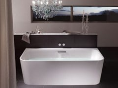 - Enamelled steel bathtub BETTEART I - Bette