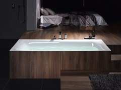 - Rectangular enamelled steel bathtub BETTELUX - Bette