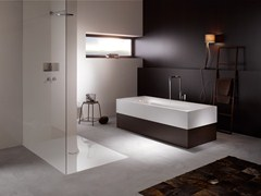 - Semi-inset enamelled steel bathtub BETTELUX HIGHLINE - Bette