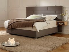 - Upholstered fabric double bed BOXSPRING SUITE DELUXE | Double bed - Hülsta-Werke Hüls