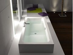 - Semi-inset bathtub BETTEONE HIGHLINE - Bette