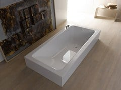 - Semi-inset bathtub BETTEONE RELAX HIGHLINE - Bette