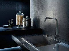 - Chrome-plated kitchen mixer tap with swivel spout LIKID | Kitchen mixer tap - Carlo Nobili Rubinetterie