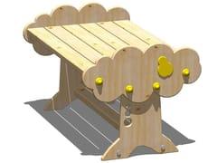 - Wooden garden table PERA   Kids table - Legnolandia