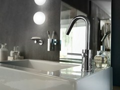 - Chrome-plated countertop 1 hole washbasin mixer PLUS | Washbasin mixer - Carlo Nobili Rubinetterie