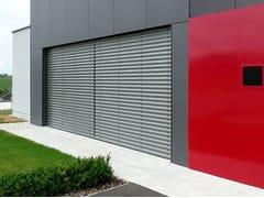- Motorized adjustable aluminium solar shading Solar shading - STUDIO 66