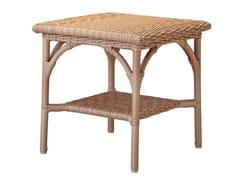 - Square resin garden side table JAVA | Side table - Tectona