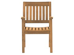 - Teak garden chair with armrests BAMPTON | Chair with armrests - Tectona