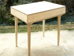 - Wooden secretary desk PUPITRE P | 1 - MALHERBE EDITION