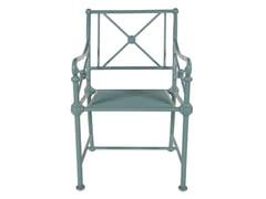 - Aluminium garden armchair with armrests 1800 | Garden armchair - Tectona