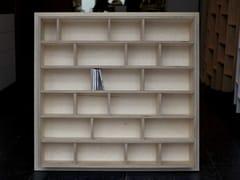 - Custom CD rack ETAGÈRE À CD - BOIS - MALHERBE EDITION