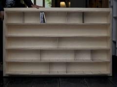 - Custom multi-layer wood CD rack ETAGÈRE À CD - INOX - MALHERBE EDITION