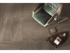 - Flooring with stone effect BASALTINA MOKA - ARIOSTEA
