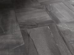 - Flooring with stone effect BASALTINA ANTRACITE - ARIOSTEA