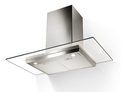 - Wall-mounted Glass and Stainless Steel cooker hood PREMIO | Wall-mounted cooker hood - FABER