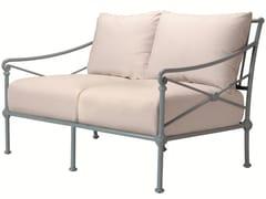 - 2 seater aluminium garden sofa 1800 | 2 seater sofa - Tectona