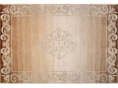 - Handmade custom rug AMIRAL GRADIENT MORDORE - EDITION BOUGAINVILLE