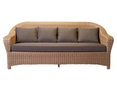 - 3 seater resin garden sofa JAVA | 3 seater sofa - Tectona