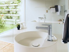 - Chrome-plated single handle washbasin mixer UP | Washbasin mixer - Carlo Nobili Rubinetterie