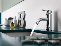 - Chrome-plated single handle washbasin mixer LIVE | Chrome-plated washbasin mixer - Carlo Nobili Rubinetterie