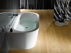 - Enamelled steel bathtub BETTESTARLET I SILHOUETTE - Bette
