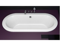 - Built-in bathtub BETTESTARLET OVAL - Bette