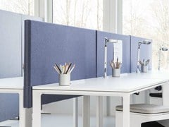 - Sound absorbing workstation screen desktop partition SONEO | Workstation screen desktop partition - Abstracta