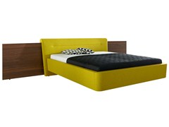 - Upholstered double bed SERA | Bed with upholstered headboard - Hülsta-Werke Hüls