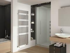 - Wall-mounted steel towel warmer FLAUTO | Chrome radiator - IRSAP