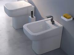 - Ceramic bidet with overflow COMO | Bidet - CERAMICA FLAMINIA