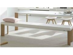 - Upholstered wooden bench LARGO WOOD | Bench - Joli