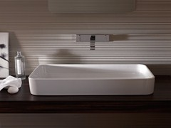 - Countertop rectangular enamelled steel washbasin BETTEART | Countertop washbasin - Bette